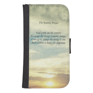 The Serenity Prayer wallet case