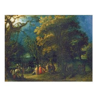 The Sermon of John the Baptist Postcard