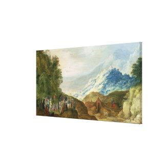 The Sermon on the Mount Canvas Prints