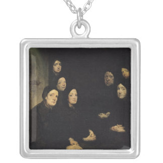 The Sermon Silver Plated Necklace