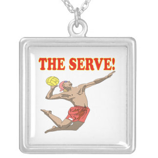 The Serve 3 Personalized Necklace