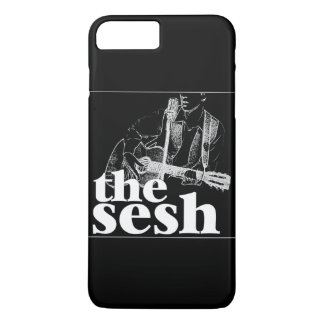 """the sesh"" Black iPhone 7 Plus Case"