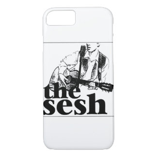 """""""the sesh"""" White iPhone 7 Case"""