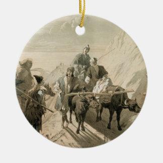 The Sevang or Cockcha Lake, Transcaucasia, plate 2 Christmas Ornament