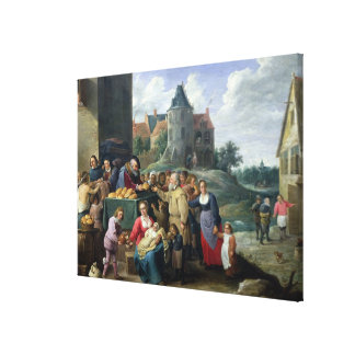 The Seven Acts of Mercy Canvas Print