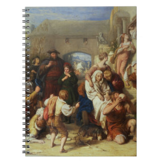 The Seven Ages of Man, 1835-8 (oil) Notebook