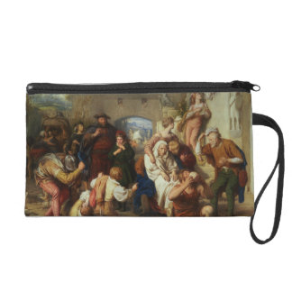 The Seven Ages of Man, 1835-8 (oil) Wristlet