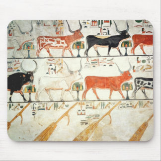 The seven celestial cows and the sacred bull mouse mat