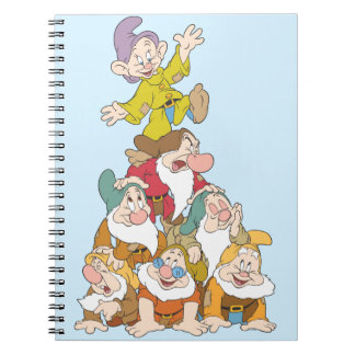 The Seven Dwarfs 5 Spiral Notebook