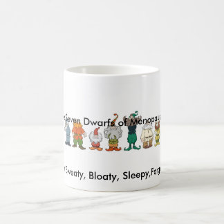 The Seven Dwarfs of Menopause Mug