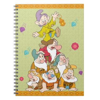 The Seven Dwarfs Pyramid Notebook