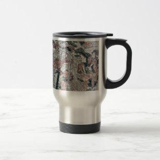 The seven gods of good luck by Katsukawa,Shunsen Coffee Mug