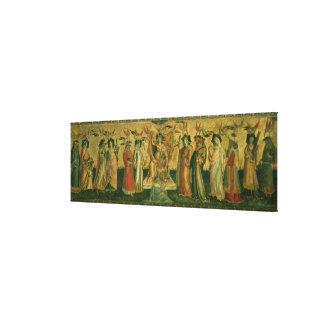 The Seven Liberal Arts, c.1435 Canvas Print