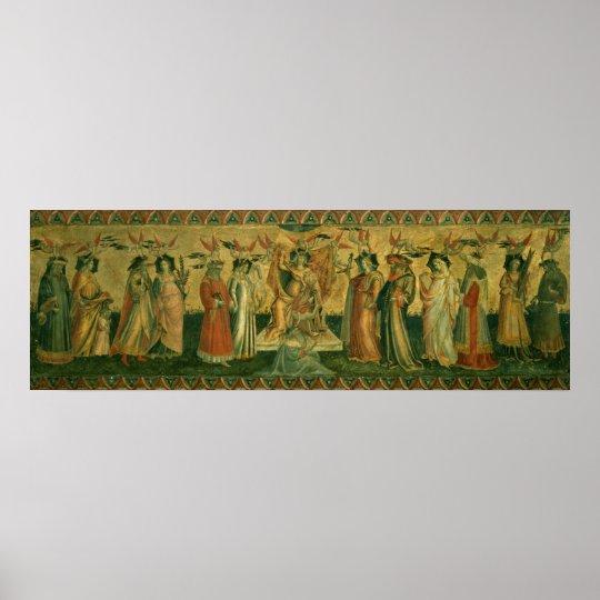 The Seven Liberal Arts, c.1435 Poster