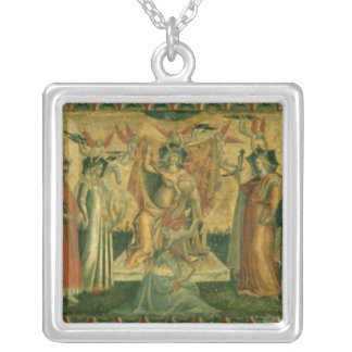 The Seven Liberal Arts, c.1435 Silver Plated Necklace