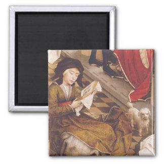 The Seven Sacraments Altarpiece 2 Square Magnet