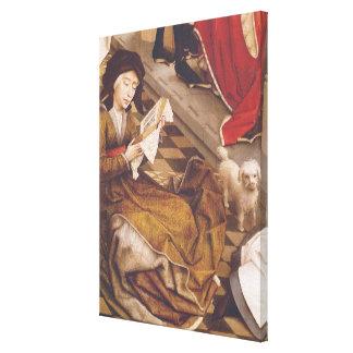 The Seven Sacraments Altarpiece Canvas Print