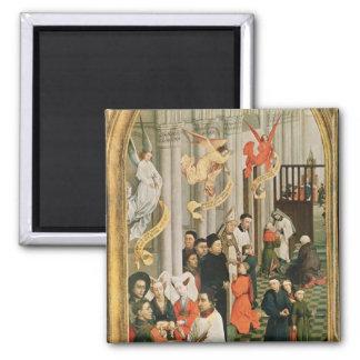 The Seven Sacraments Altarpiece Fridge Magnets