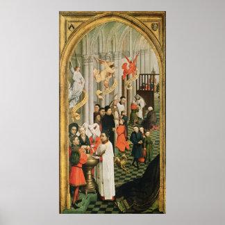 The Seven Sacraments Altarpiece Poster