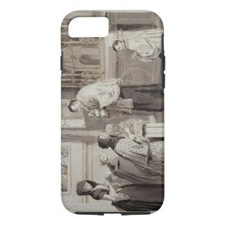 The Seven Sacraments: Communion, 1779 (pen, brown iPhone 7 Case