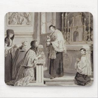 The Seven Sacraments: Communion, 1779 (pen, brown Mouse Pad