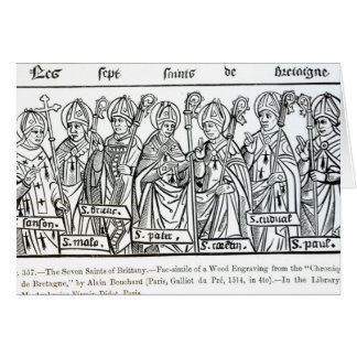 The Seven Saints of Brittany Cards