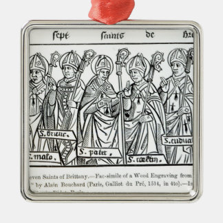 The Seven Saints of Brittany Christmas Ornament