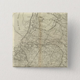 The Seven United Provinces of Holland 15 Cm Square Badge