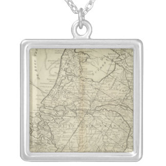 The Seven United Provinces of Holland Silver Plated Necklace