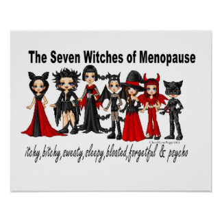 The Seven Witches of Menopause Poster