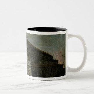 The Seven Wonders of the World Two-Tone Coffee Mug