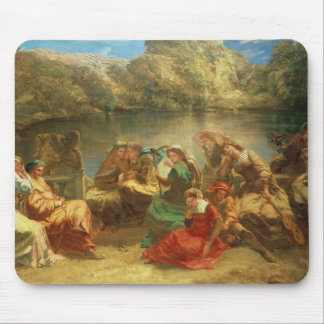 The Seventh day of the Decameron Mouse Pad