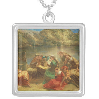 The Seventh day of the Decameron Silver Plated Necklace