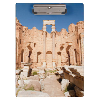 The Severan Basilica, Leptis Magna, Al Khums 2 Clipboard