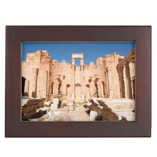 The Severan Basilica, Leptis Magna, Al Khums 2 Keepsake Box