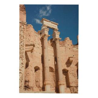 The Severan Basilica, Leptis Magna, Al Khums Wood Wall Decor