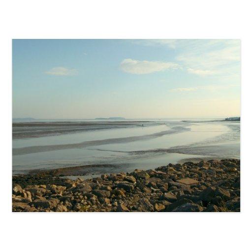 The Severn Estuary Near Cardiff Bay Post Cards