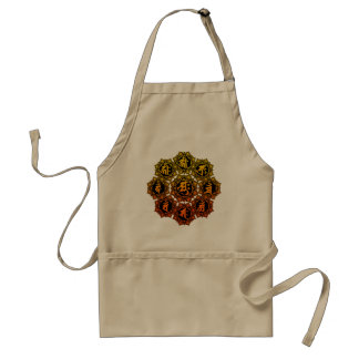 The sexagenary cycle eight body France Adult Apron