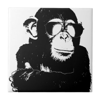 The Shady Monkey.gif Small Square Tile