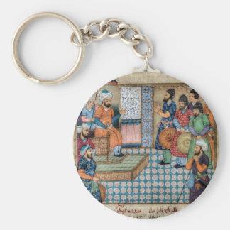 The Shahnama Basic Round Button Key Ring