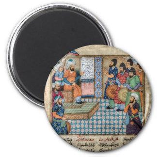 The Shahnama 6 Cm Round Magnet