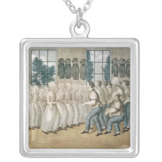 The Shakers near Lebanon Silver Plated Necklace