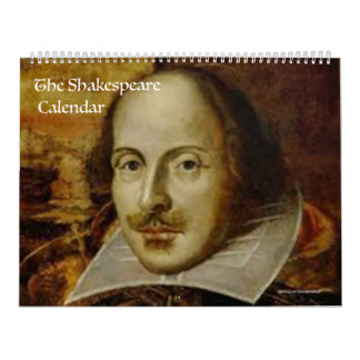 The Shakespeare Calendar