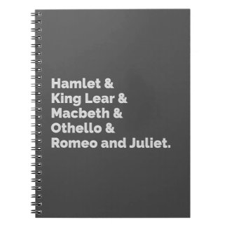The Shakespeare Plays I Notebook
