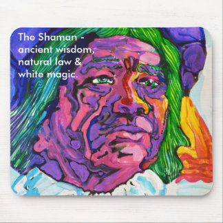 The Shaman -  mouse mat