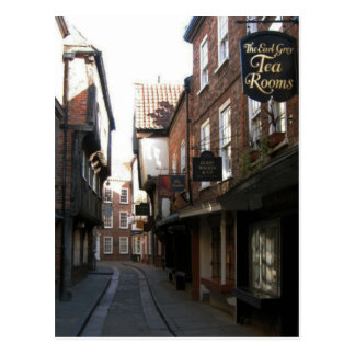 The Shambles (Unplugged) Tea Postcard