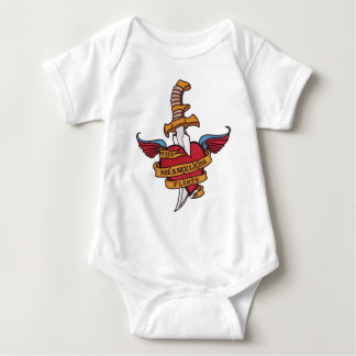The Shameless Flirts Baby Bodysuit