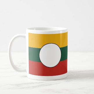 the Shan State, Myanmar Basic White Mug
