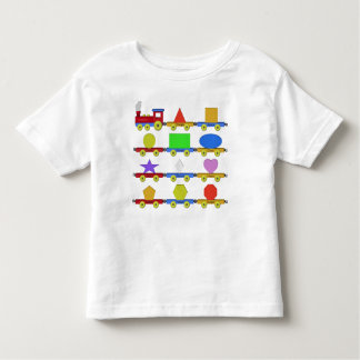The Shape Train Toddler T-Shirt