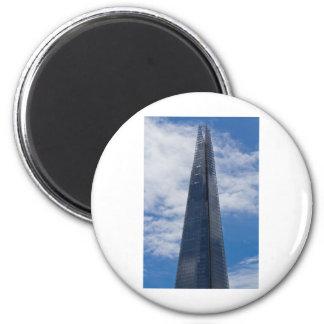 The Shard 6 Cm Round Magnet